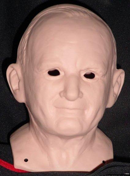 38 Pope John Paul II Shoulder Head